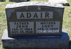 Lucy Abigail <i>McClure</i> Adair