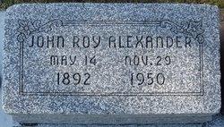 John Roy Alexander