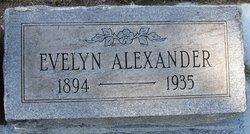 Evelyn J. <i>Davidge</i> Alexander