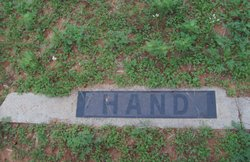May R. <i>Pate</i> Hand