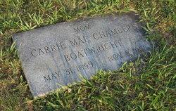 Carrie Mae <i>Chambers</i> Boatwright