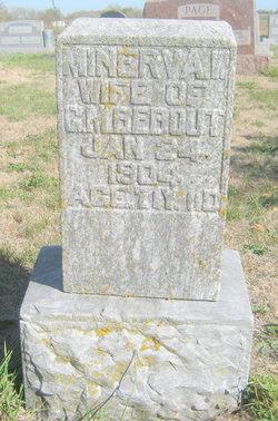 Minerva W <i>Wallace</i> Bebout