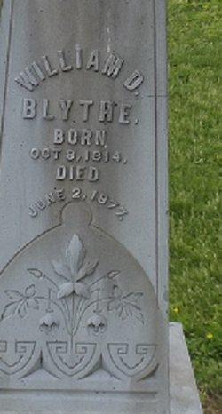 William D Blythe