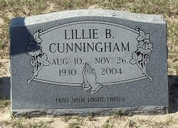 Lillie Bertha <i>McCaskill</i> Cunningham
