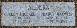 Francy <i>Maxwell</i> Alders