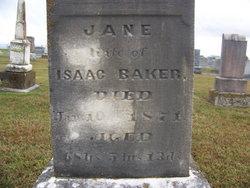 Jane <i>McCully</i> Baker