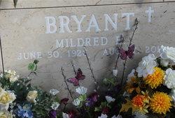 Mildred E. <i>Ealy</i> Bryant