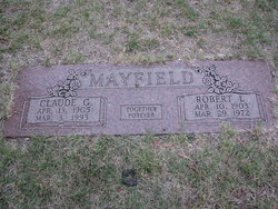 Claude <i>Griffin</i> Mayfield