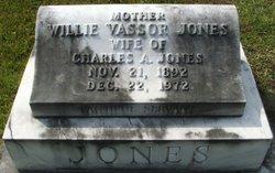 Willie <i>Vassor</i> Jones