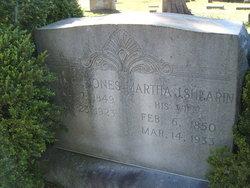 Martha J <i>Shearin</i> Jones