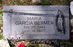 Maria <i>Garcia</i> Bermea