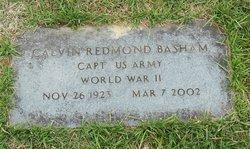 Calvin Redmond Basham