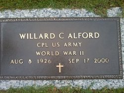 Willard Clayton Alford
