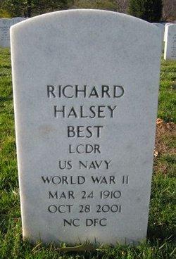 Richard Halsey Dick Best