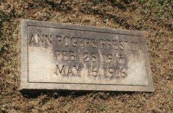 Ann Rogers Preston