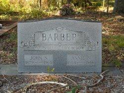 Nancy Ann Annie <i>Wilburn</i> Barber