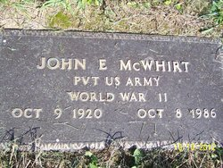 John Earl McWhirt