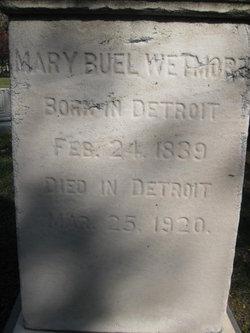 Mary <i>Buel</i> Wetmore