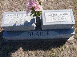 Frances Mildred <i>Althaus</i> Blaine