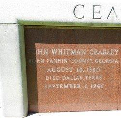 John Whitman Cearley