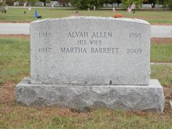 Martha <i>Barrett</i> Allen