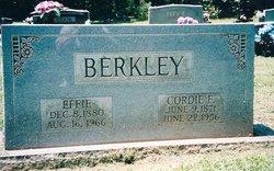 Effie <i>Chapman</i> Berkley