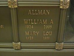 Mary Lou <i>Kitterer</i> Allman