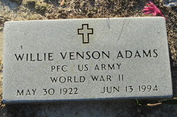 Willie Venson Adams