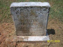 Thomas J Martin
