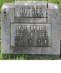 Colonie Octavia Lonie <i>Lofton</i> Cotten