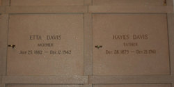 Hayes Davis