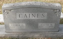 George Harmmie Caines