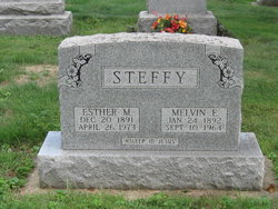 Melvin Edward Steffy