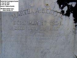 Martha Ann <i>Cunningham</i> Beattie