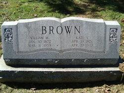 Kate V <i>Hower</i> Brown
