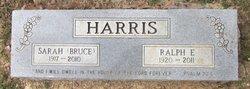 Sarah <i>Bruce</i> Harris