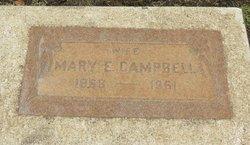 Mary E. <i>Hatch</i> Campbell