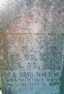 Pvt John Peter Ray