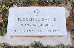 Florence Alice <i>Murphy</i> Bastil