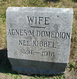 Agnes M <i>Kibbel</i> Domedion
