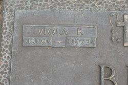 Viola F <i>Brooks</i> Bigger