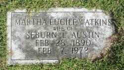 Martha Lucile <i>Watkins</i> Austin