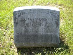 Mable <i>Wade</i> Berryhill