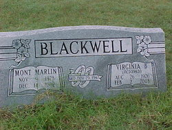 Virginia B. <i>McDonald</i> Blackwell