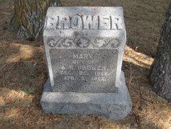 Mary B. <i>Lusk</i> Brower