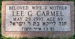 Lee <i>Garfinkel</i> Carmel