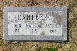 Matilda Dahlberg
