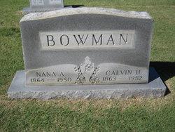 Calvin H. Bowman