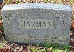 Rosa Katherine <i>Graham</i> Harman