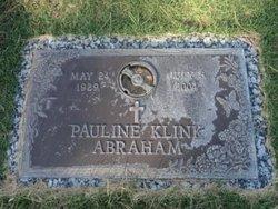 Pauline <i>Klink</i> Abraham